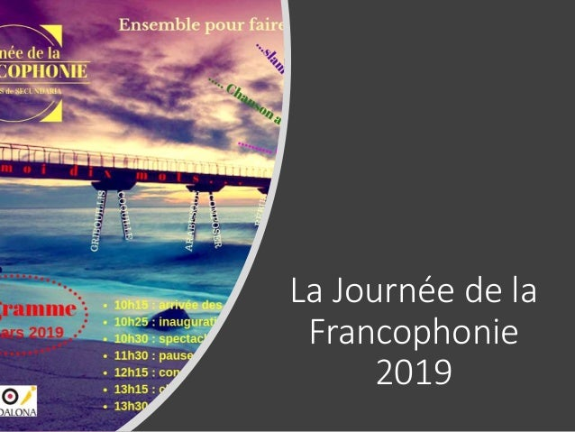 La Journée de la Francophonie 2019