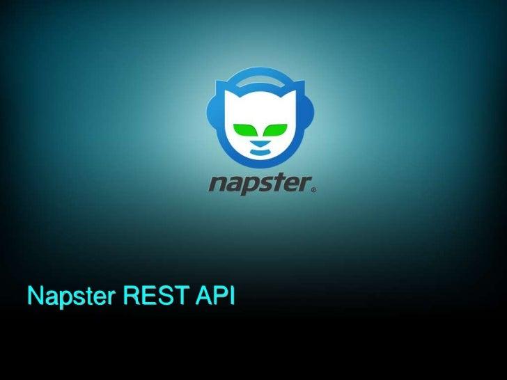 Napster REST API<br />