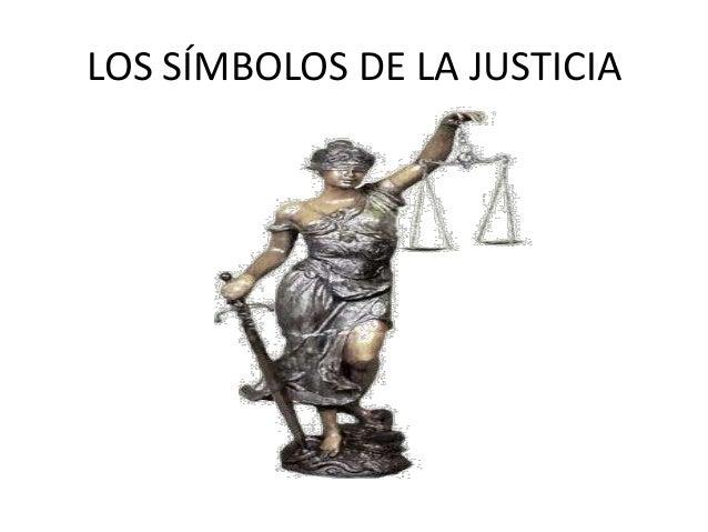 LOS SÍMBOLOS DE LA JUSTICIA