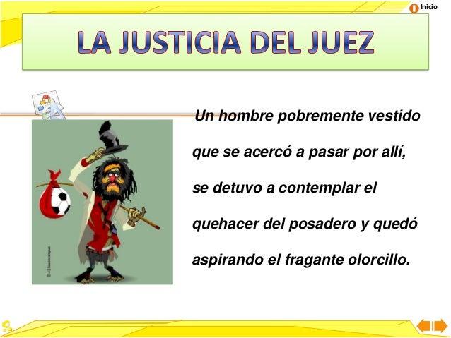 Worksheet. La justicia del juez
