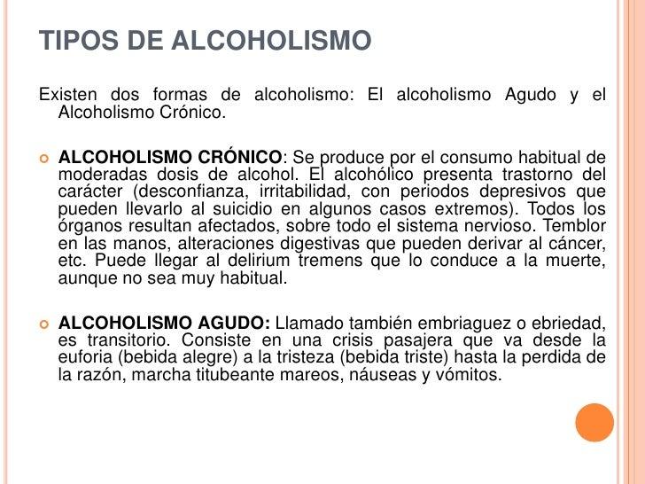 Como la ortodoxia se refiere a la codificación del alcoholismo