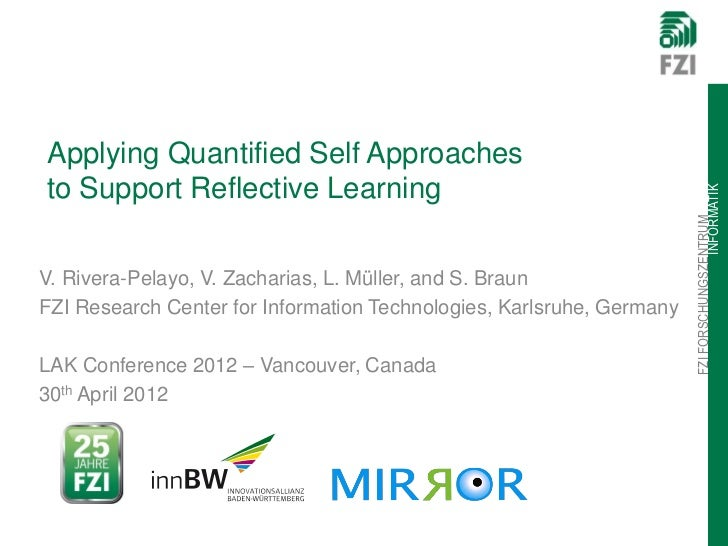 Applying Quantified Self Approachesto Support Reflective Learning                                                         ...
