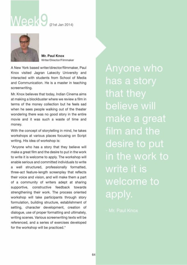 (9th Feb 2014)  Mr.  Padam Bhushan  Executive Producer Yash Raj films  The street has been a site for theatrical performan...
