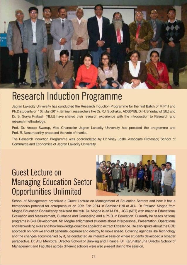 "Managerial Skills Development Workshop  Internal workshop on ""Managerial Skills Development"" was conducted by School of Ba..."