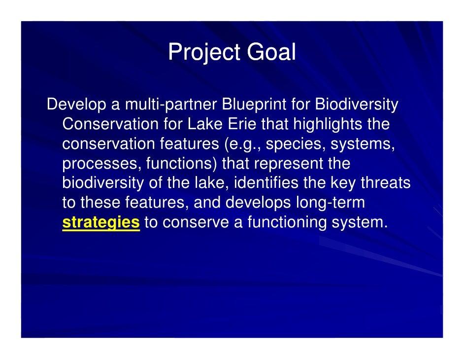 Regional biodiversity conservation strategy