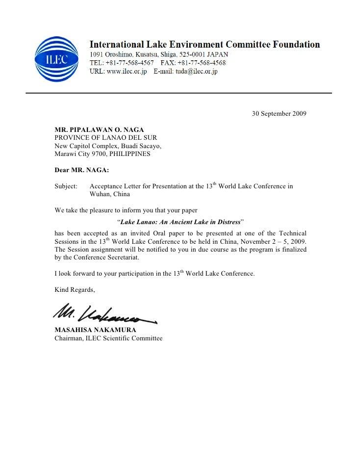30 September 2009  MR. PIPALAWAN O. NAGA PROVINCE OF LANAO DEL SUR New Capitol Complex, Buadi Sacayo, Marawi City 9700, PH...