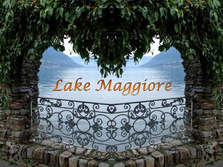 Lake Maggiore (or Verbano) is ata height of 193 m and covers anarea of 212 square km. Itswestern shore is in Piedmont, its...