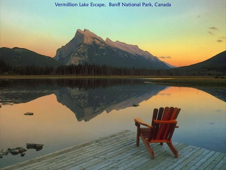Vermillion Lake Escape,  Banff National Park, Canada