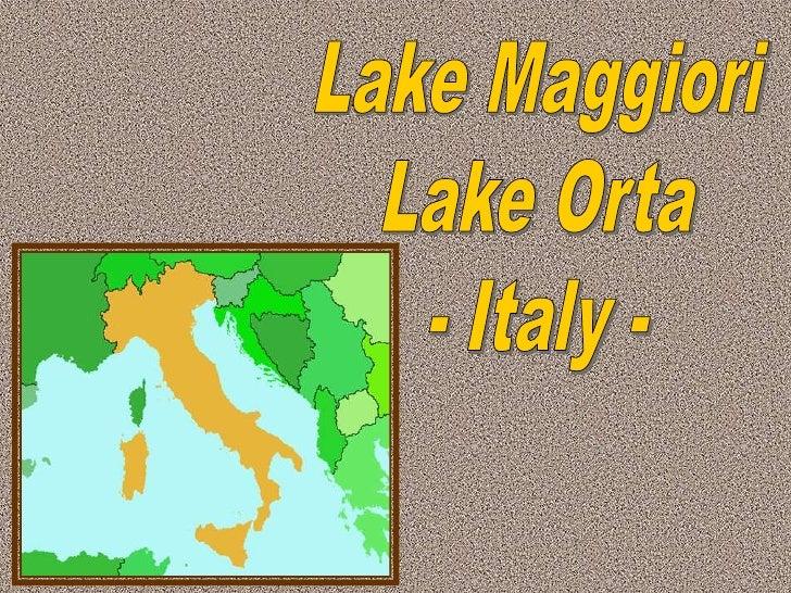 Lakes Maggiori & Orta Compactado