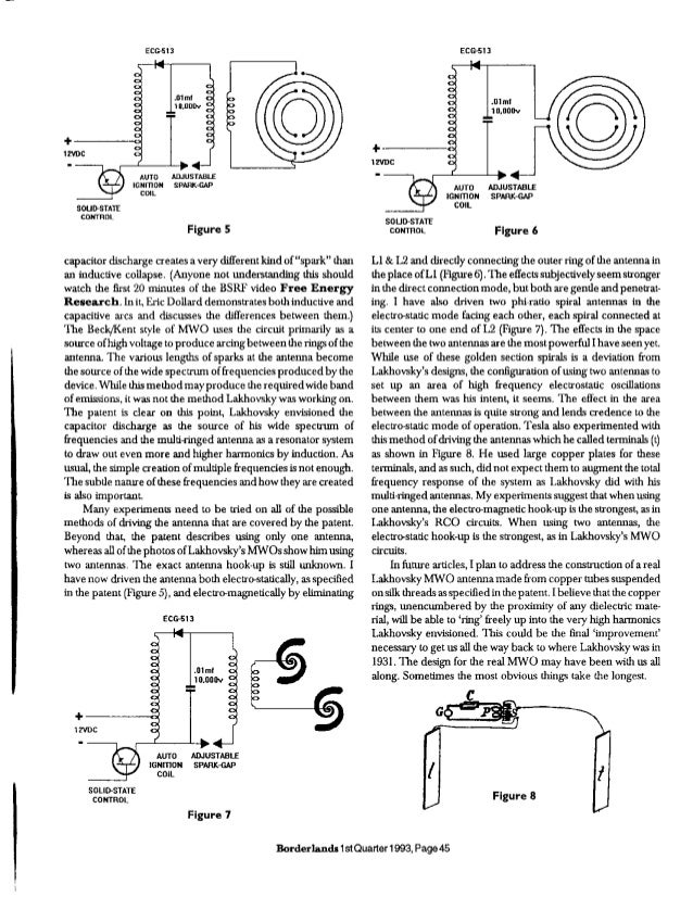Lakhovski multiwave oscillator