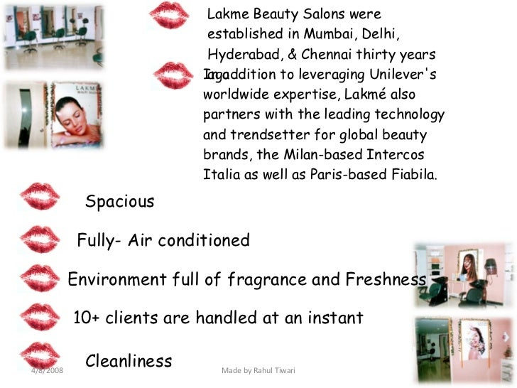 swot analysis of lakme Says meghna modi, swot analysis of lakme strengths : local brand of  specific relevance to india building brand image by.