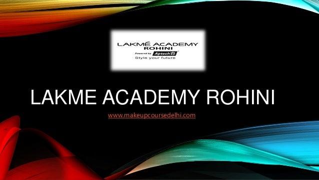 Lakme Academy Course in Rohini, Delhi | Makeup | Beautician | Cosmeto…