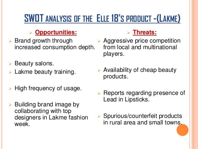 swot analysis hair and beauty salon A mock business plan for a hairdressing salon gill burton hairstyling cream gill burton 2 swot analysis including innovative (the hair and beauty industry.