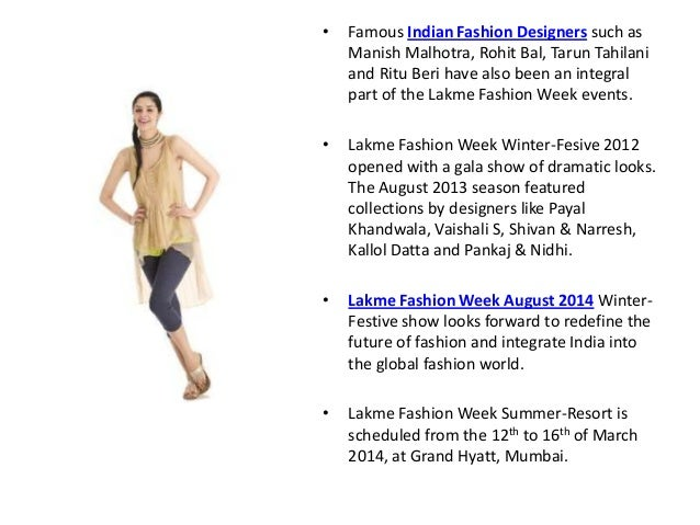 Lakme Fashion Week August 2014 - The Premier Winter-festive