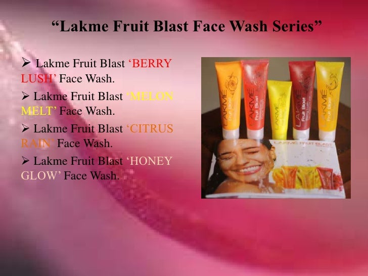 Introduction for lakme product
