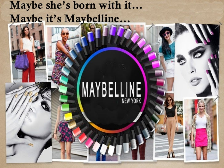    T.L. Williams founded the Maybelline company in 1915    and introduced Maybelline Cake Mascara.   In 1996, Maybelline...