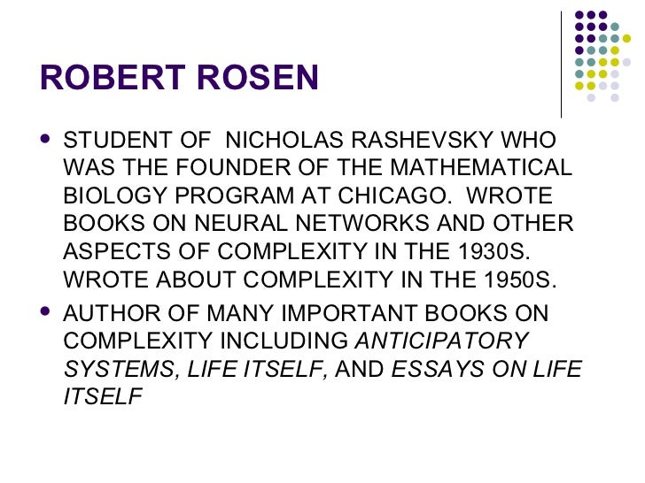 Robert Rosen (theoretical biologist)