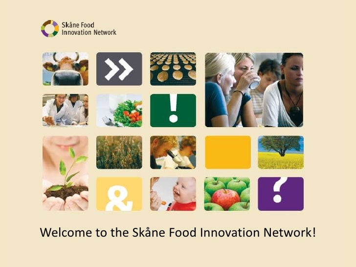 Welcome to the Skåne Food Innovation Network!<br />