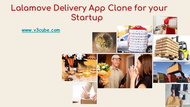 Lalamove Delivery App Clone for your Startup www.v3cube.com