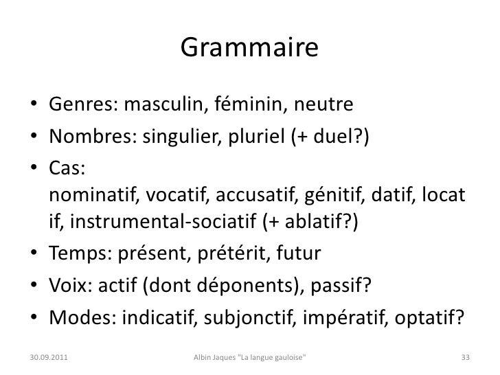 la langue gauloise