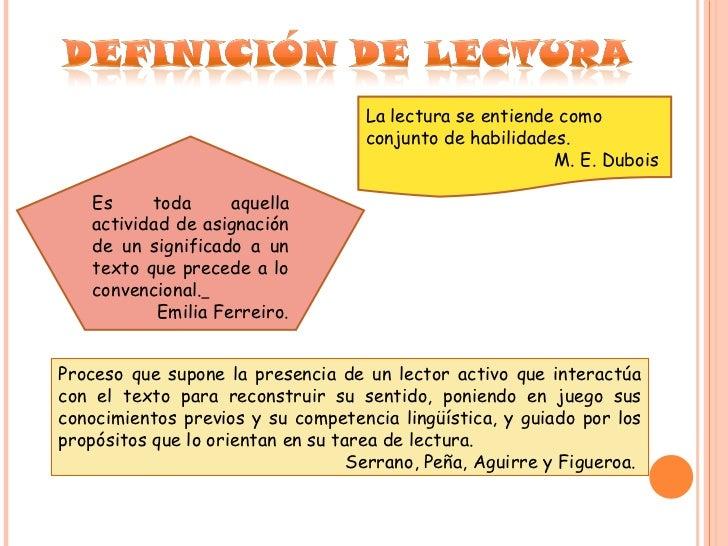 La lectura.doc Slide 2