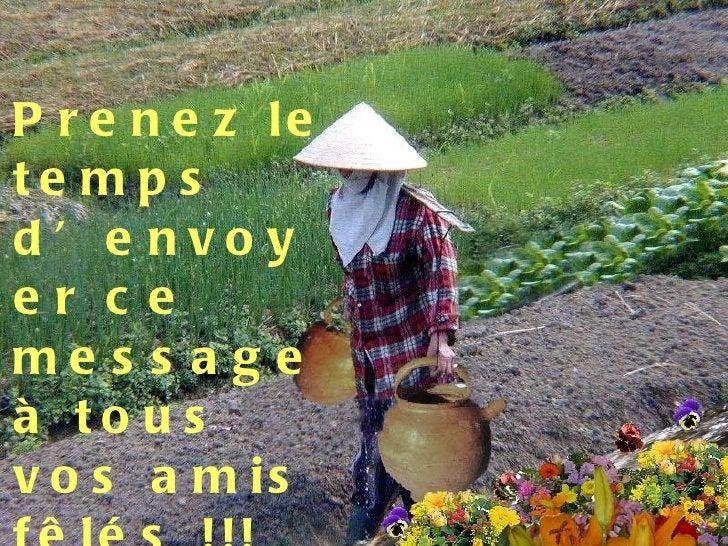 <ul><li>Prenez le temps d'envoyer ce message à tous vos amis fêlés !!! </li></ul>