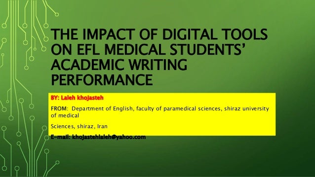 impacts of internet on academic performance of students essay First, the effects of the nine months a child spends in utero are far from  if your  school aims to improve student achievement, academic success must be  and  the internet (and use them in less sophisticated ways) own fewer books, toys,.