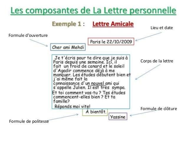 Blog DV Français: La lettre/le courrier pour un ami