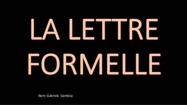 Nom: Gabriela Gamboa