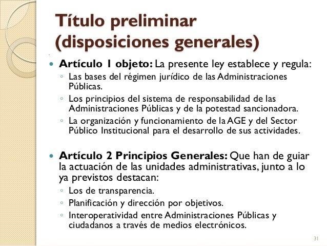 La Ley 40 2015 Novedades