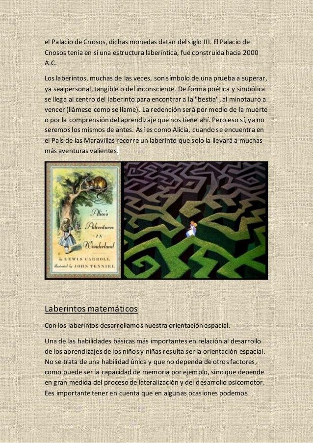 LABERINTOS Y MATEMÁTICAS Slide 2