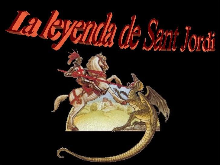 La leyenda de Sant Jordi