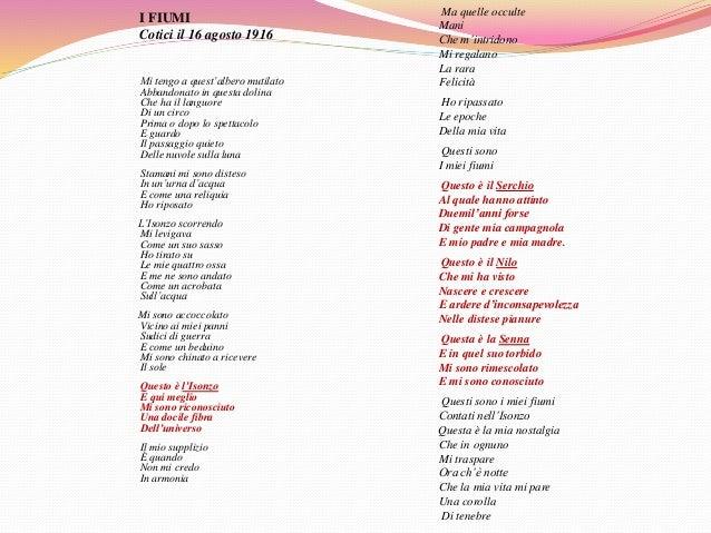 La Lezione Di Giuseppe Ungaretti