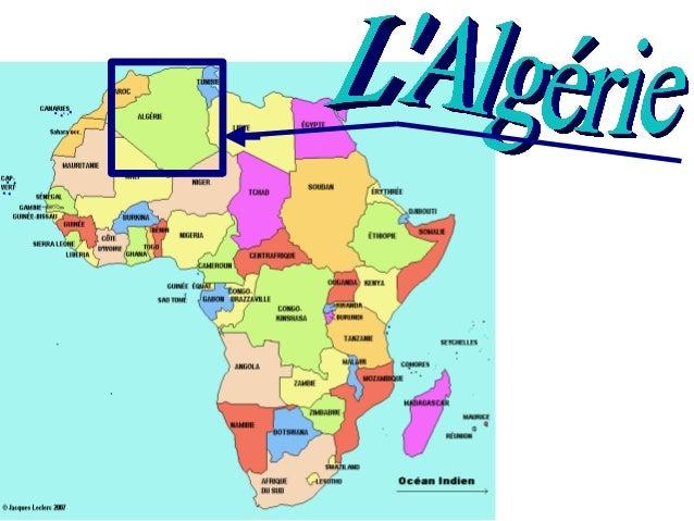 LAlgérie                                                      LAlgérie est un pays qui se                             sit...