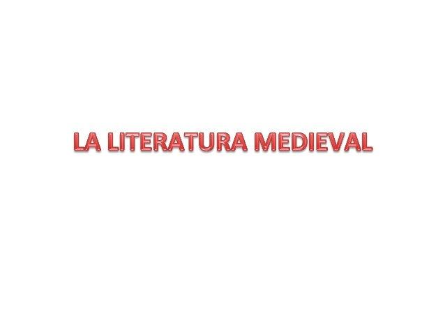 Poesía  narra*va  popular  tradicional  En  la  Edad  Media,  el  género  épico  presenta  dos  manifestaciones:  • Los  C...