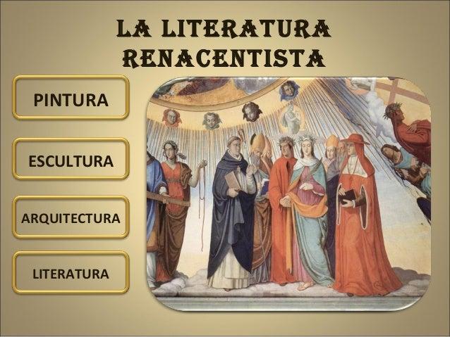 La literatura renacentista. Cristina Solórzano Coro Slide 2