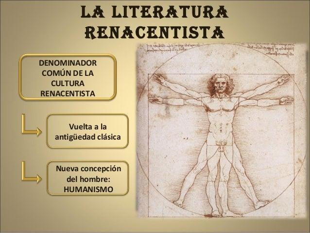 La literatura renacentista. Cristina Solórzano Coro Slide 3