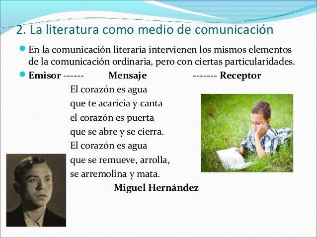  El emisor literario es el autor. En ocasiones no se conoce y se dice que   la obra es anónima. En la obra literaria se ...