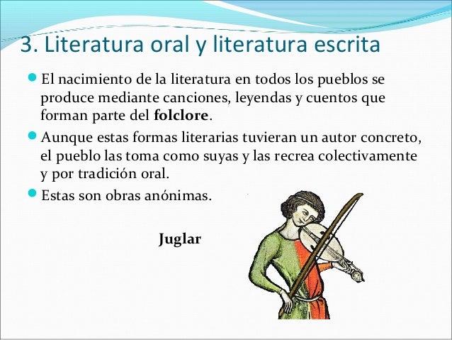  En la actualidad, las obras literarias se dan a conocer de diferentes    maneras:1.- La Literatura oral: se transmite de...