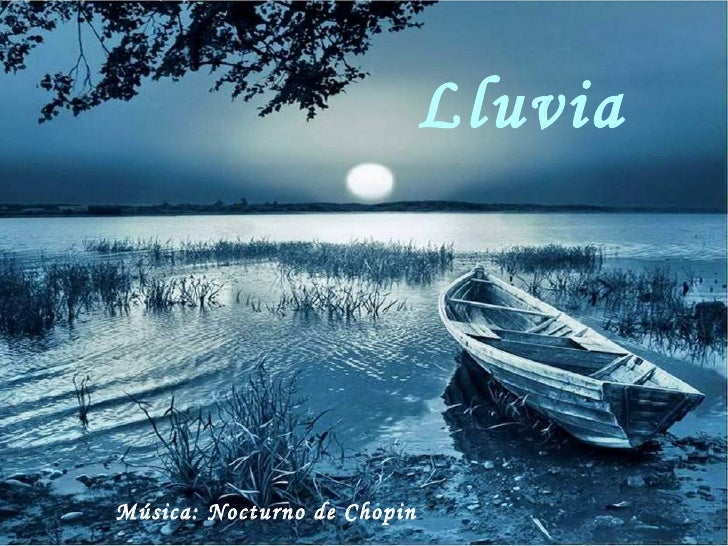 Lluvia Música: Nocturno de Chopin