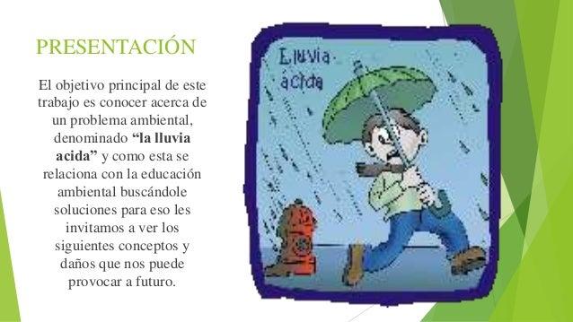 La lluvia acida