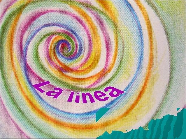 ELEMENTOS DE LA EXPRESIÓN GRÁFICA 2.LA LÍNEA: Geométrica: La línea está formada por la intersección de dos planos. Se repr...