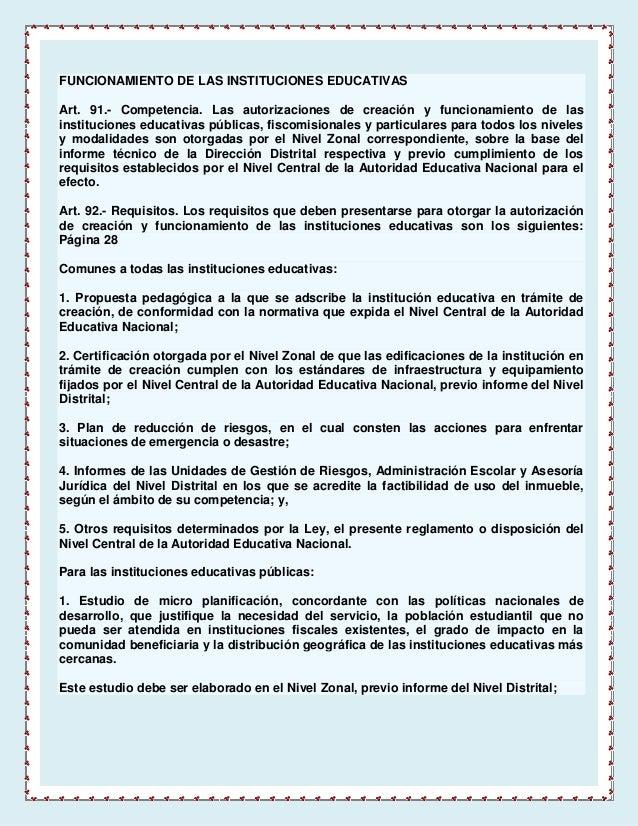 reglamento loei ecuador pdf