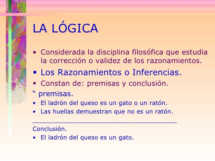 La Logica Slide 3