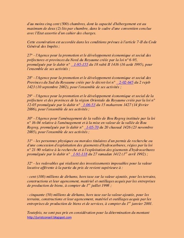 La loi n relative la fiscalit des collectivit s locales for Loi sur les constructions