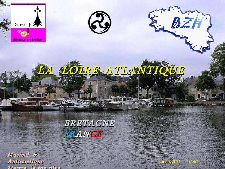 LA   LOIRE-ATLANTIQUE BRETAGNE  FR AN CE 5 mars 2011   FRANCE Musical  & Automatique  .  Mettre  le son plus fort