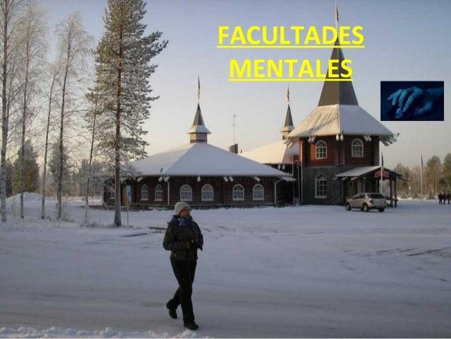 FACULTADES MENTALES