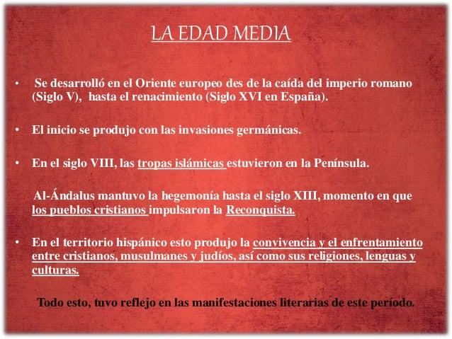 La lírica tradicional medieval castellana Slide 3