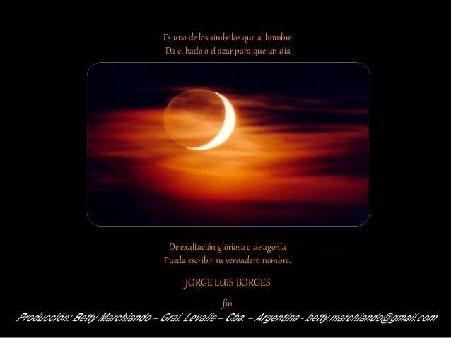 La Luna   poema - Jorge L. Borges.
