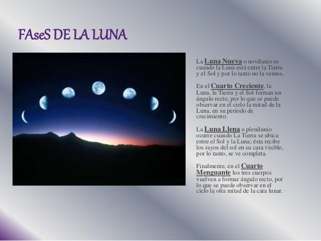 La luna fases y alunizaje for Cuando es luna nueva